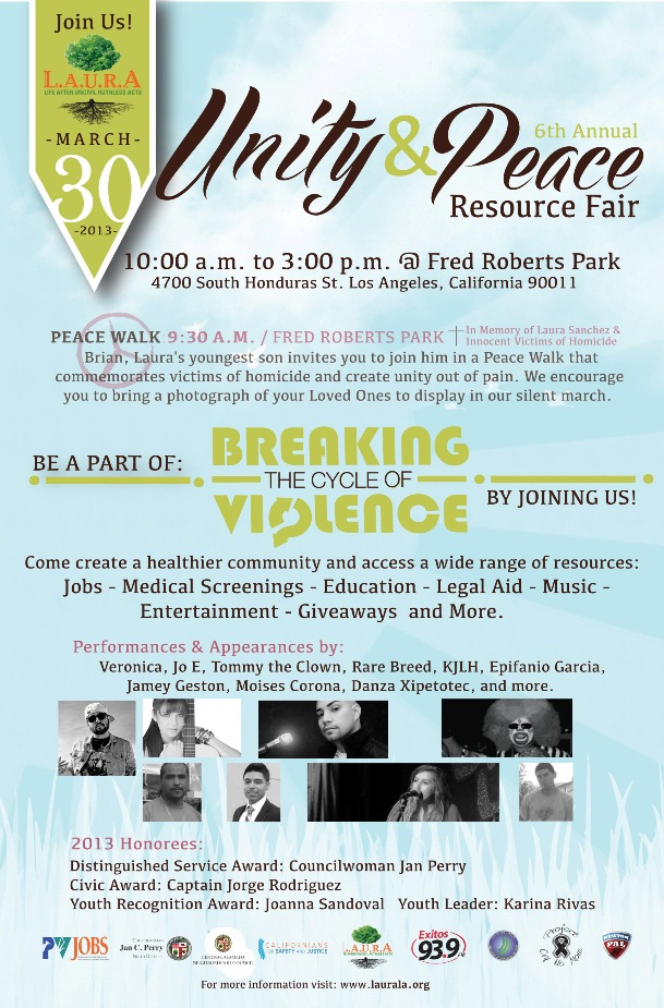 6th Annual Unity & Peace Resource Fair – Life After Uncivil